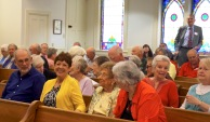 And the people came - congregation-pastor-denomination covenanting worship - 4-00 pm, May 22, 2016 - Trinity UCCm Northport, MI