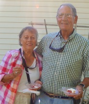 and the sun shone down - Peg & Don - Ice Cream Social - 7-22-2016