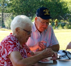 Geneva and Jim - Ice Cream Social -7-22-2016
