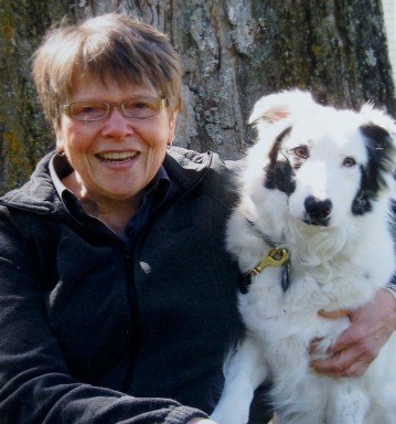 Karen Fenne & her dog