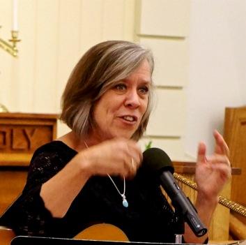 Karen Stokes guiding us into her song