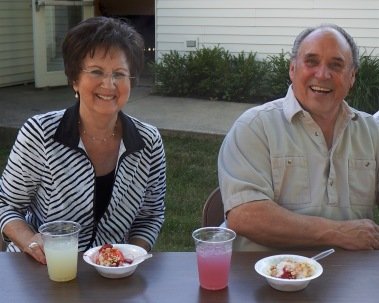 Linda & Gerry - Ice Cream Social - 7-22-2016