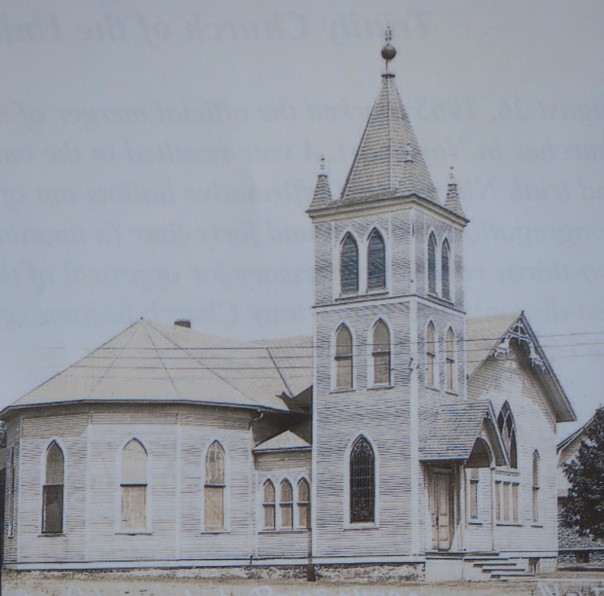 Trinity Church as it was after a remodel in 1901