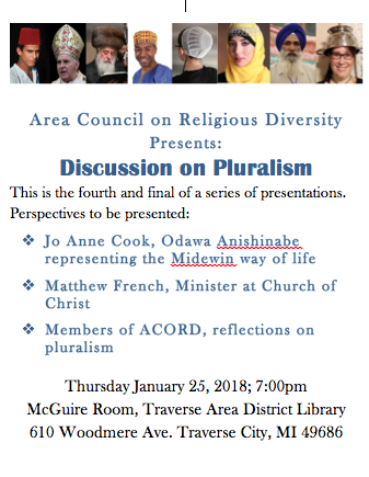 ACORD - discussion on pluralism